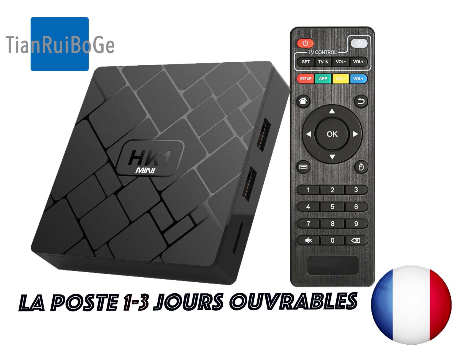 hk1mini android 8.1 2gb+16gb wifi 2.4g quad core rk3329 smart tv box