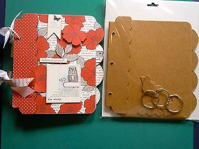 Chipboard Tabs (Bare Chipboard Tabbed Album 8