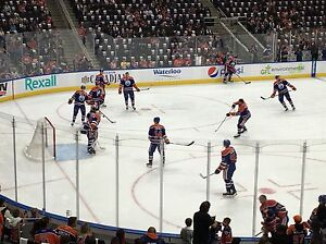Oilers Season Seats for Sale Hard Copies for Xmas Present