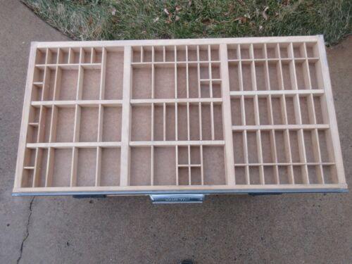 Letterpress Hamilton California Job Case - Type Case - Shadow Box  L79