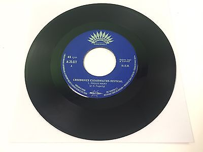 """Creedence Clearwater Revival - Proud Mary - 7"""" Single, 1969, Rare Spanish - VG+"""