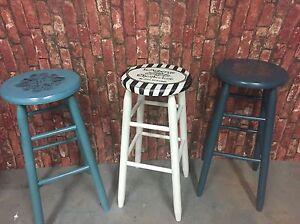 Stools, rocking chair