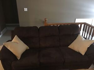 Wonderful couch and love seat set