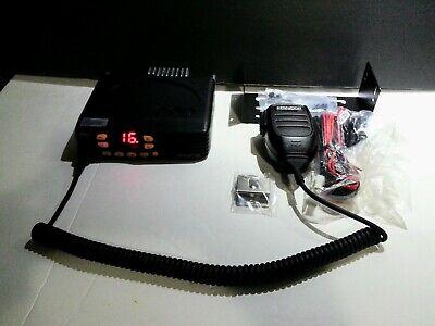 New Kenwood Vhf Fm Transceiver Tk-7302hvk Mobile 2 Way Radio Microphone 16 Ch