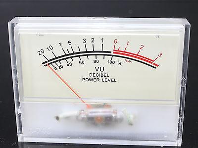 Flashstar 2pcs Sd-740 A Amplifier Panel Vu Meter 80x60mm 12v Amber Lamp Sd