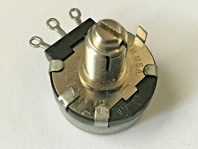 Clarostat 53c2 50k 2w 34-turn Locking Potentiometer Nos Vintage Pot