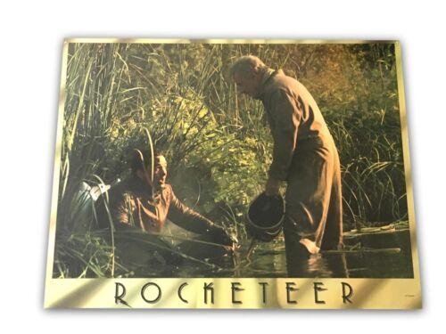 """Rocketeer"" Original 11x14 Authentic Lobby Card Poster Photo 1991 Disney 2"
