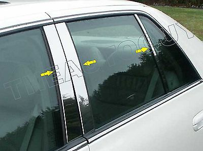 Dhs Post (2000 2001 2002 CADILLAC DEVILLE DTS DHS STAINLESS 6 PC PILLAR POST SET )