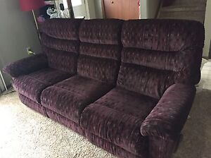 FREE Dual recliner couch and recliner chair.