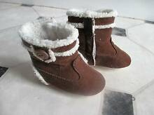 Baby Winter Boots for 12 months old Brown Cord, warm inside Chudleigh Meander Valley Preview