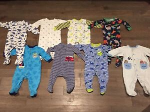 6 month baby boy sleepers