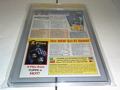 X-Files #4 CGC SS 9.8 Signature Autograph DAVID DUCHOVNY Signed Topps Comics 🔥 4