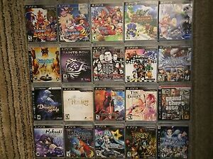 VIDEO GAMES FOR SALE - PS3 Wii WiiU 3DS DS PS2 Vita GameCube