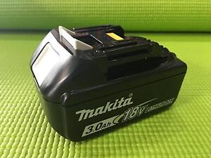 Makita 18V 3.0Ah Li-Ion Slide Battery (BL1830) Brunswick East Moreland Area Preview