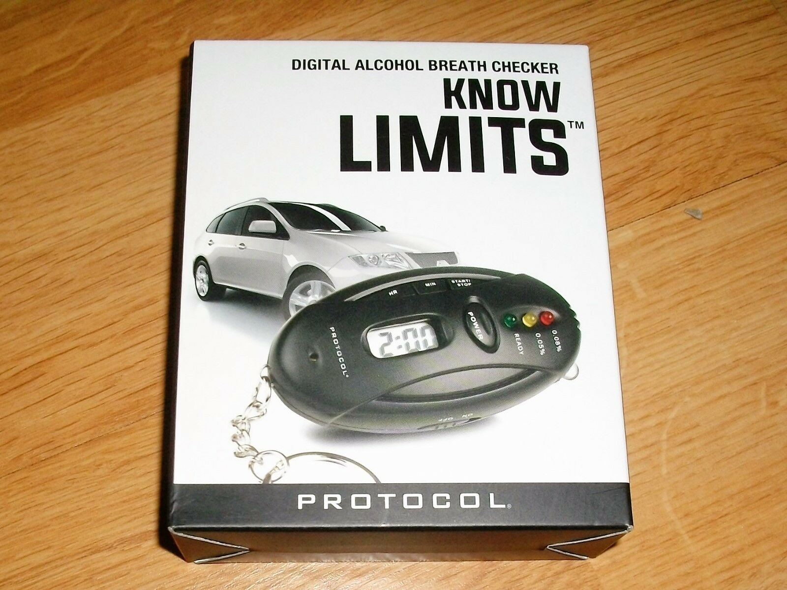 DIDITAL ALCOHOL BREATH CHECKER( KNOW LIMITS)
