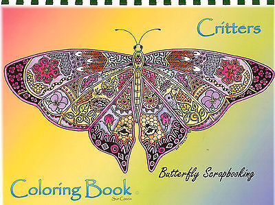 RS Animal Spirits 15 Pages EARTH ART Sue Coccia New (Aquarell Coloring Book)