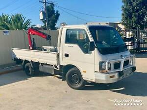 2003 Kia 2700 with Hiab - Great condition Campbellfield Hume Area Preview