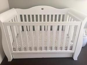 Boori Cot + Angelcare Monitor + Groegg + Avent Breastpump & Bottles Perth Perth City Area Preview