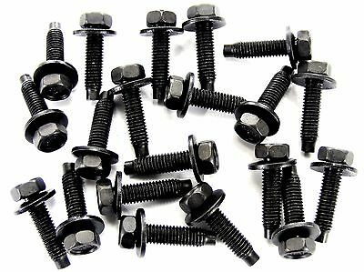 GM Bolts- M5-.80mm x 20mm Long- 8mm Hex- 12mm Washer- Qty.20- #167