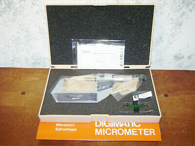 Mitutoyo 2-3 Inch Digital Micrometer No 293-723-30 W Case - New Old Stock