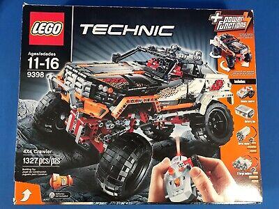 LEGO TECHNIC 9398 PARTIAL SET BAGS 2x2 BOOKLET #1 #2 #3 TIRES x2 RIM x1 STICKERS