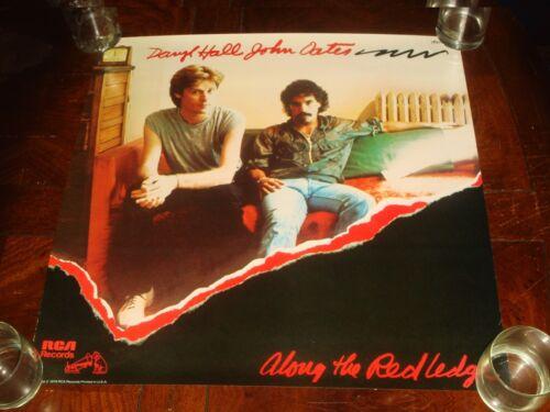 Rare DARYL HALL & JOHN OATES Along The Red Ledge 1978 RCA RECORDS PROMO POSTER