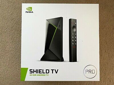 NVIDIA Shield TV Pro 4K HDR Streaming Media Player NEW + FREE FAST DELIVERY