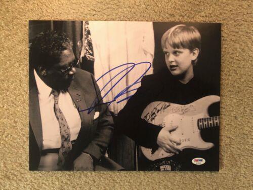 JOE BONAMASSA (Guitarist~Singer~Songwriter) signed 11x14 photo  ~ PSA/DNA COA