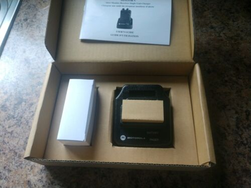 Motorola Minitor V Charger (New in Box)