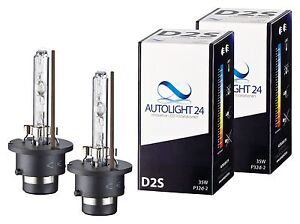 2 x Xenon Brenner D2S -  TÜV Ersatz Lampen Birnen E-Zulassung 6000K 35 Watt