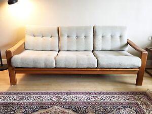 Vintage Teak Sofa