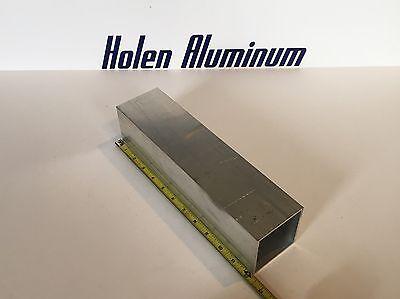 3 X 3 X .250 X 12 Length Square Aluminum Tube