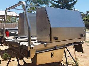 Toolboxes/Tray Back with H-Bar Greenfields Mandurah Area Preview