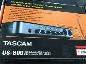 TASCAM US-600 Interface Audio/MIDI USB 2.0