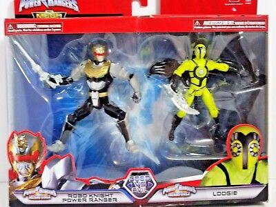 Power Rangers Megaforce Good vs. Evil Robo Knight Ranger & Loogie Figure Set