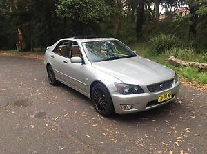 Lexus Is200 Sports Luxury 1999 Silver Automatic Chatswood Willoughby Area Preview