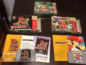 RARE N64 GAMES AND SYSTEMS