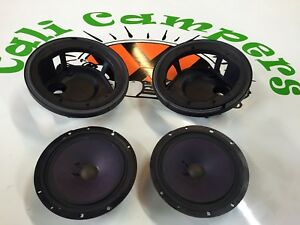 Vw T4 Door Pocket Speakers And Baskets