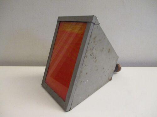 Vintage Eastman Kodak Photography Safelight Lamp Model B w/ Filter - USA Made