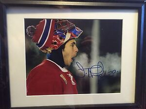 Montreal Canadians Jose Theodore signed 8x10 pics