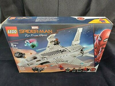 LEGO 76130 Marvel Spiderman Stark Jet and the Drone Attack NEW Sealed! 504pcs 8+