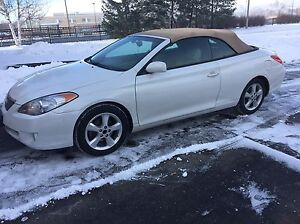 2006 Toyota Solara V6 SLE convertible package