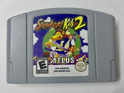 Snowboard Kids 2 Game Cartridge PAL EUR Version For Nintendo N64