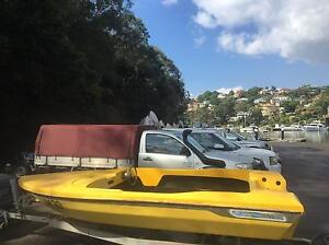 APOLLO HAWK SPEED SKI RACE RUNABOUT BOAT Manly Manly Area Preview