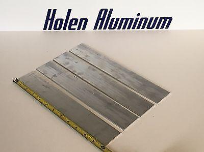 18 X 2 X 12 Long Aluminum Flat Bar Stock 6061-t6 4 Pieces