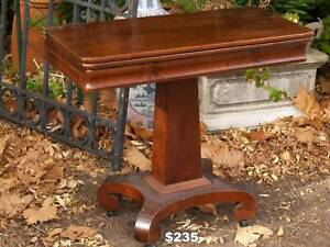 William IV Card Table / Hall Table and other antiques Martin Gosnells Area Preview