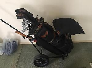 Golf clubs and buggy Ferntree Gully Knox Area Preview