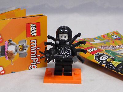 Lego 71021 Minifiguren Serie 18 Party Mann Spinnenkostüm Spider Suit Boy #9 NEU