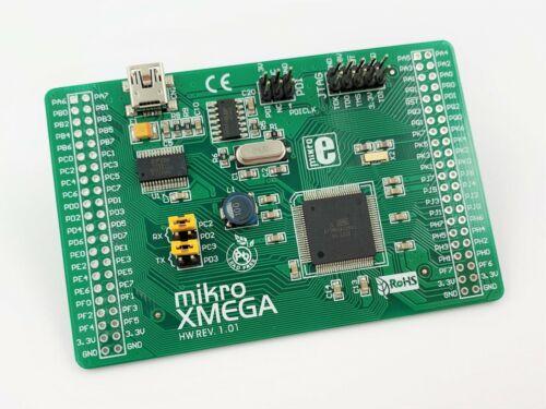 MikroElektronika mikroXMEGA Development Board ATXMEGA128A1 MIKROE-580