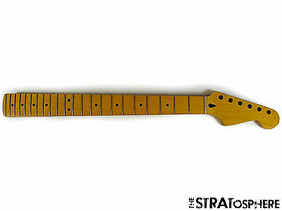 New Fender Lic Vintage Tinted Maple Strat Neck Stratocaster Mighty Mite Mm2902vt